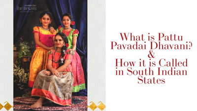 What is Pattu Pavadai & How it is called in South Indian states ?