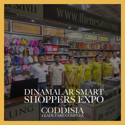 The Nesavu at Dinamalar Smart Shoppers Expo 2019