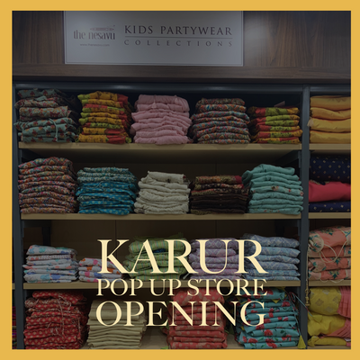 The Nesavu Pop Up Store Opens at PSR SILKS karur