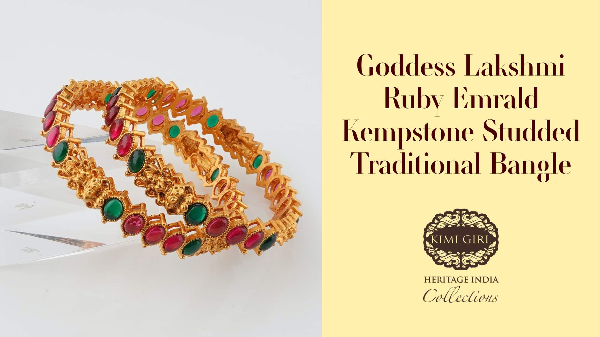 5 Unique Bangle Designs From Kimi Girl To Complete Your Goddess Look by The Nesavu salem, Coimbatore, Erode