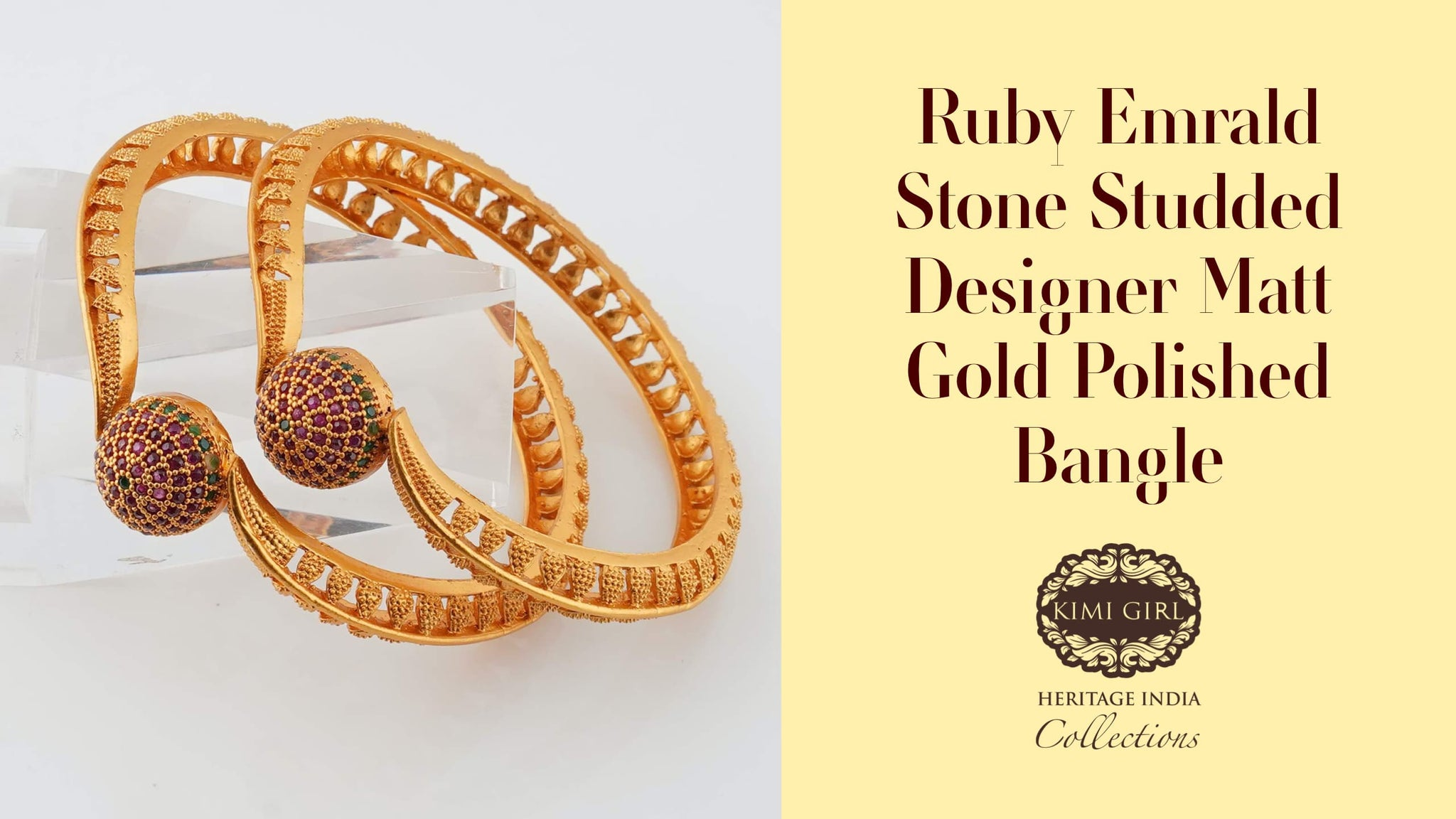 5 Unique Bangle Designs From Kimi Girl To Complete Your Goddess Look by The Nesavu salem, Coimbatore, Erode7