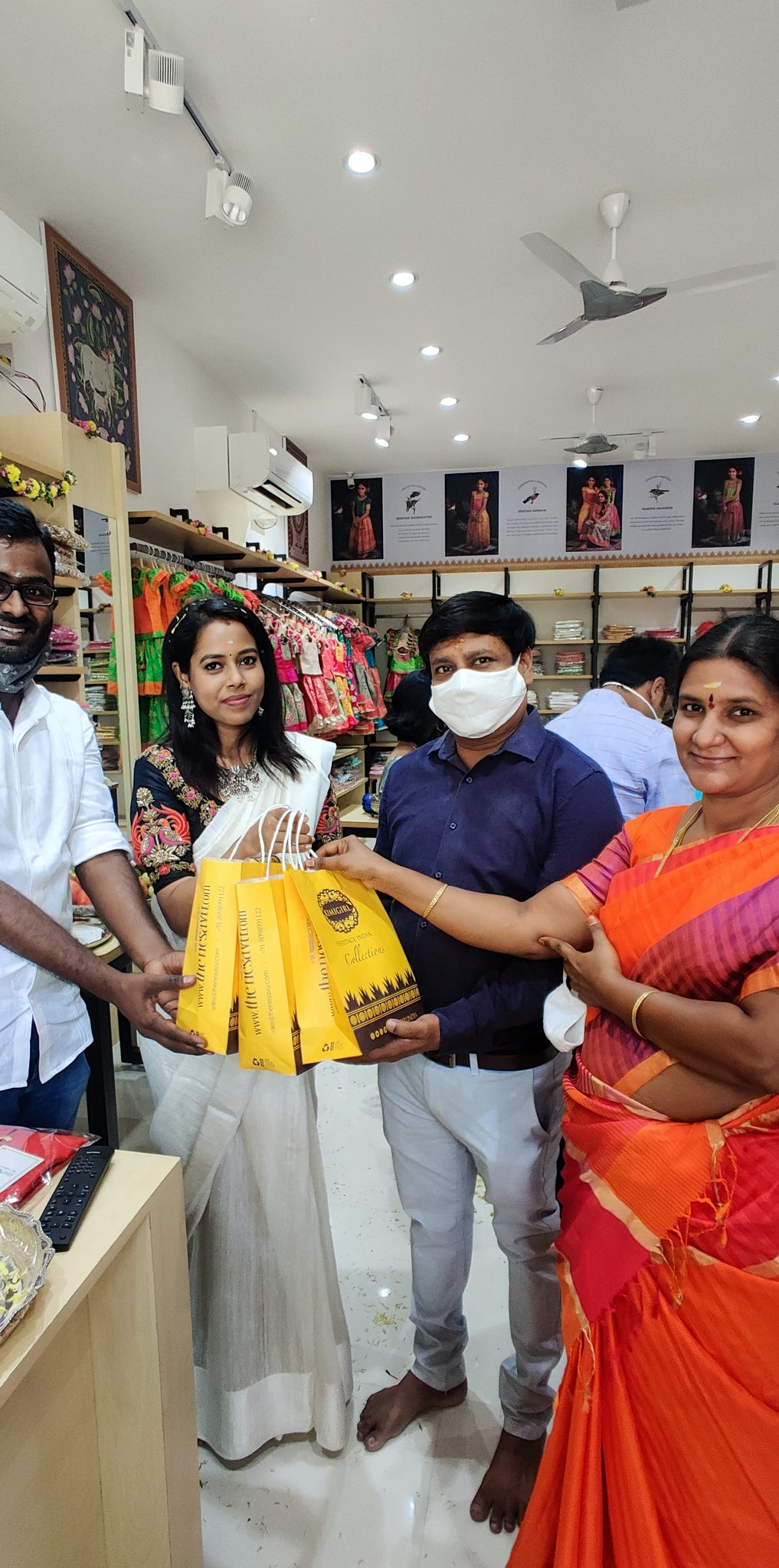 nesavu-Happy-customers-who-were-present-during-our-store-launch-at-salem