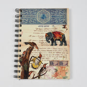 Papa Taka Notebooks a5 Spiral Diary Unique Design Statement Notebook for Personal Journal psr silks Nesavu PNJ117A
