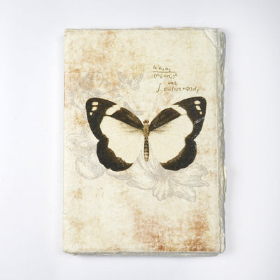 Papa Taka Notebooks Artist Handmade paper made of Recycled cotton Personal Journal Notebook Diary psr silks Nesavu KG459