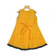 The Nesavu Frocks & Dresses Beautiful Bib Yoke Cotton Casual Wear Frock Dress For Baby Girls psr silks Nesavu