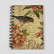 Papa Taka Notebooks Best Wirebound Notebook in Nature Inspired Print Diary for Writers psr silks Nesavu PNJ120A