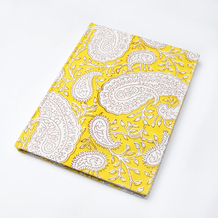 Papa Taka Notebooks Cool notebooks for work made from Hand Crafted fabrics of india psr silks Nesavu