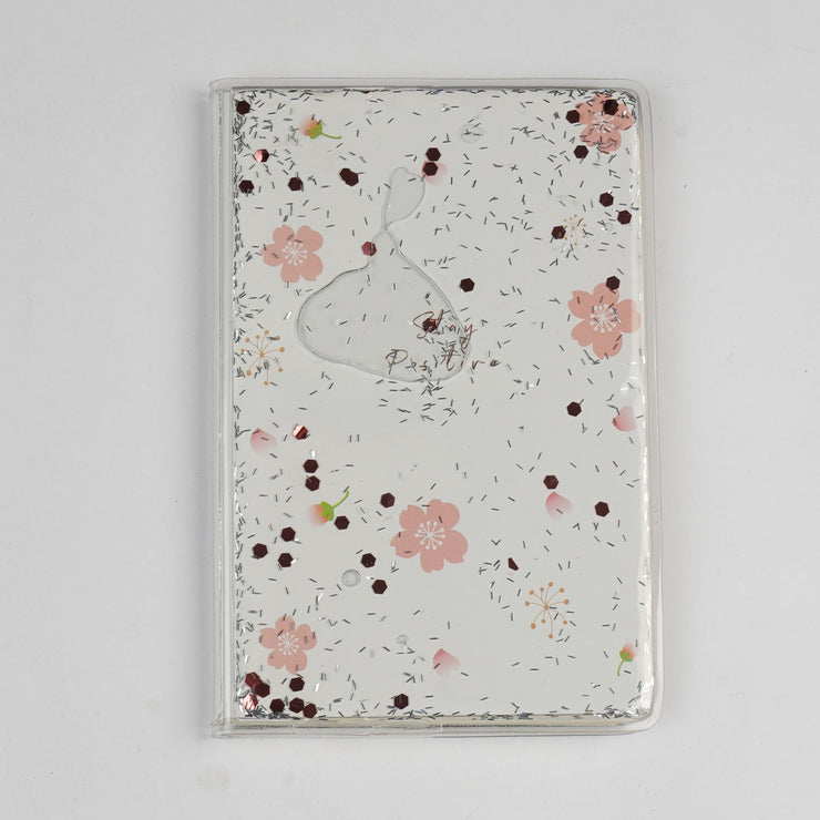 Papa Taka Notebooks Cute Personal Diary for Girl Floating Sequins As Stress Buster Note psr silks Nesavu 10 x 15 PNJ095A
