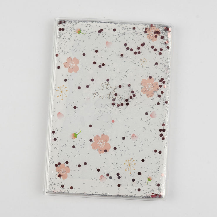 Papa Taka Notebooks Cute Personal Diary for Girl Floating Sequins As Stress Buster Note psr silks Nesavu 15 x 12 PNJ095B