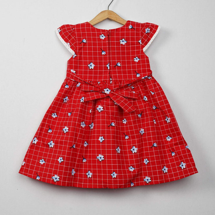 The Nesavu Frocks & Dresses Daily Use Cotton Fabric Cotton Frocks for Kids psr silks Nesavu