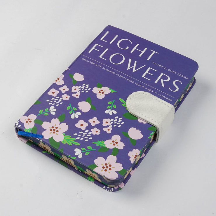 Papa Taka Notebooks Designer floral printed cover beautiful journals with flap psr silks Nesavu