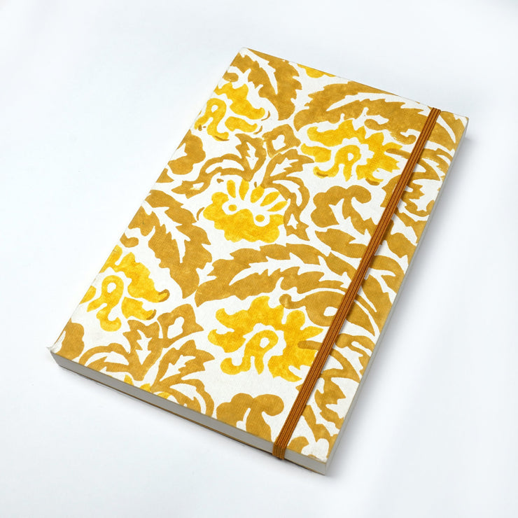 Papa Taka Notebooks Designer Indian textiles inspired Printed handcrafted Journal Notebook diary psr silks Nesavu KG529