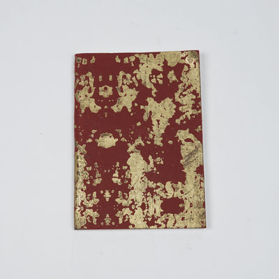 Papa Taka Notebooks Doodle Diary Abstract Gold Foil Print Creative Diaries Online psr silks Nesavu PNJ144A