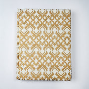 Elegant Kanchipuram Silk saree Design Inspired Journal Notebook Diary - thenesavu