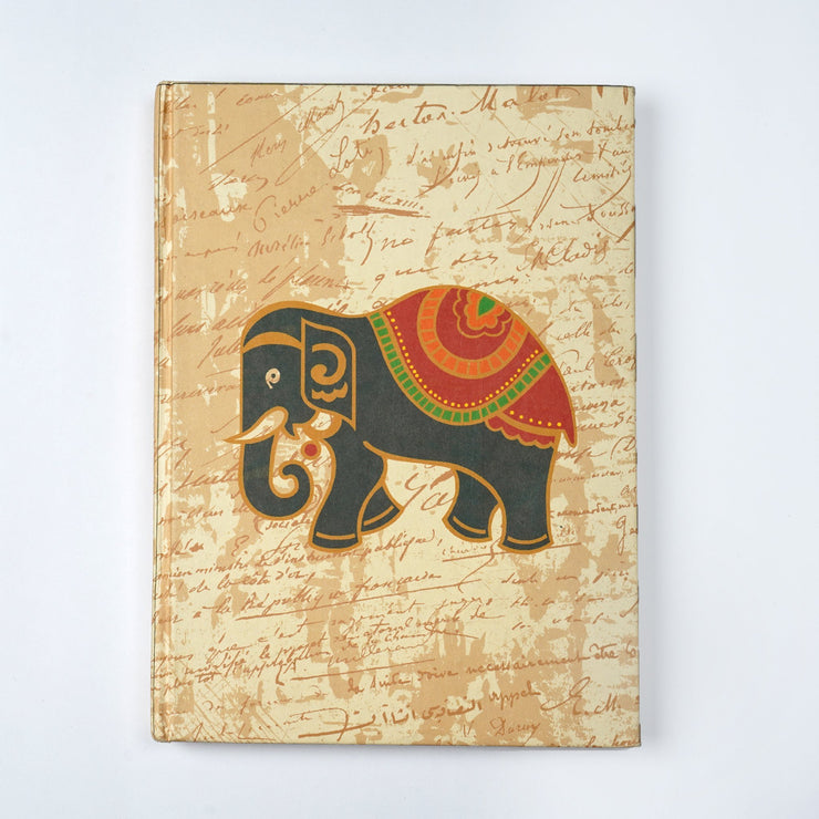 Papa Taka Notebooks Elephant Digital Art  Handmade Journal Notebook Diary for work psr silks Nesavu KG464