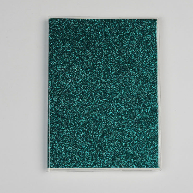 Papa Taka Notebooks Glitter Notebooks With Word Quotes Best Gift for Teens Doodling psr silks Nesavu teal PNJ084F