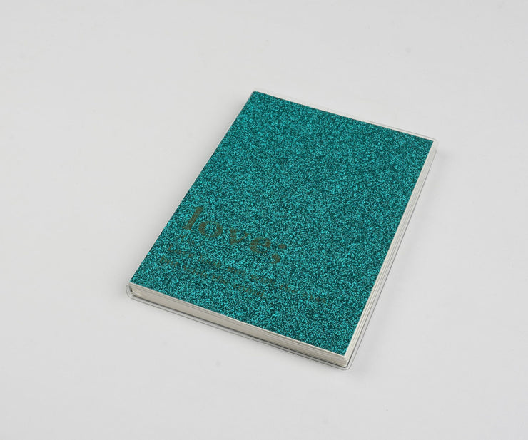 Papa Taka Notebooks Glitter Notebooks With Word Quotes Best Gift for Teens Doodling psr silks Nesavu