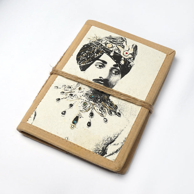 Handicrafts of india Vintage Personal Journal Diary Notebook hand made paper - thenesavu