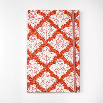 Papa Taka Notebooks Handmade Indian cotton fabrics cover eco friendly Journal Notebook Diary psr silks Nesavu KG477