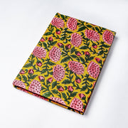 Jaipur Cotton Floral Printed Fabric Cover Daily Office Journal Notebook - thenesavu