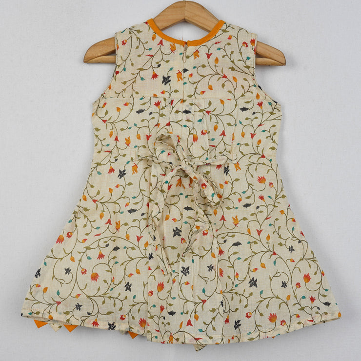 The Nesavu Frocks & Dresses Kids Baby Cotton Dress psr silks Nesavu