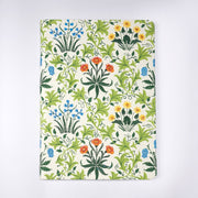 Papa Taka Notebooks Mughal Floral Motif Printed Embroidered Hand Made Journal Notebook psr silks Nesavu KG450