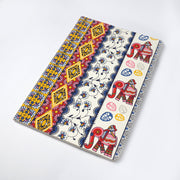 Nice Traditional Indian elephant Madhubani Printed Journal Notebook - thenesavu