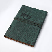 Travel Leather Personal Journal Diary Notebook for Men and women - thenesavu