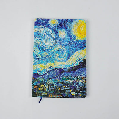 Papa Taka Notebooks Van goghs painting inspired small notebook diary psr silks Nesavu 10cm X 7cm PNJ068A
