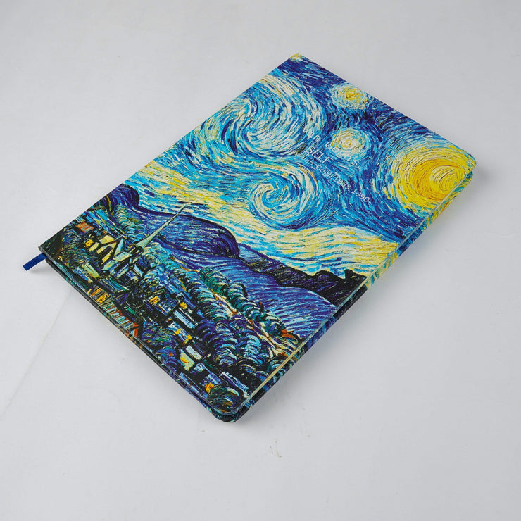 Papa Taka Notebooks Van goghs painting inspired small notebook diary psr silks Nesavu