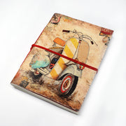 Papa Taka Notebooks Vintage Scooter Printed Personal Journal Notebook Diary for work psr silks Nesavu KG534