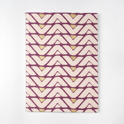 Zig Zag Notebooks covers made of fabrics in india inspired designs - thenesavu