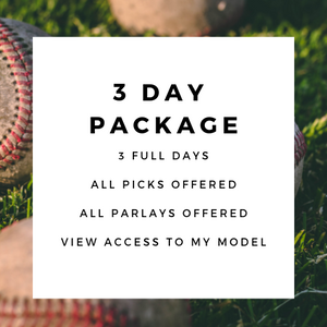 3 Day Sports Package