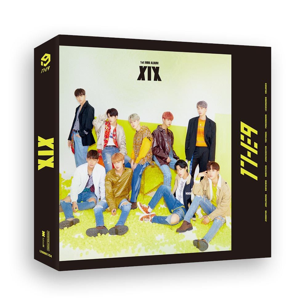 1THE9 - 1st Mini Album - XIX