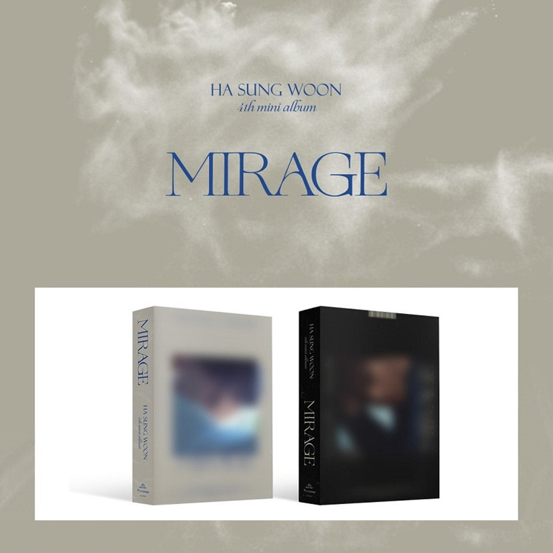 Ha Sung Woon - 4th Mini Album - Mirage