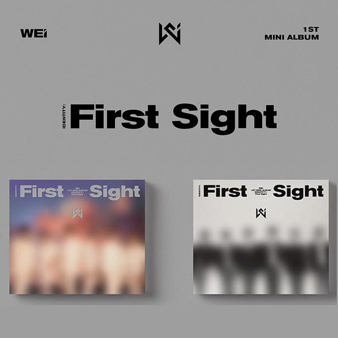 WEi - 1st Mini Album - IDENTITY : First Sight