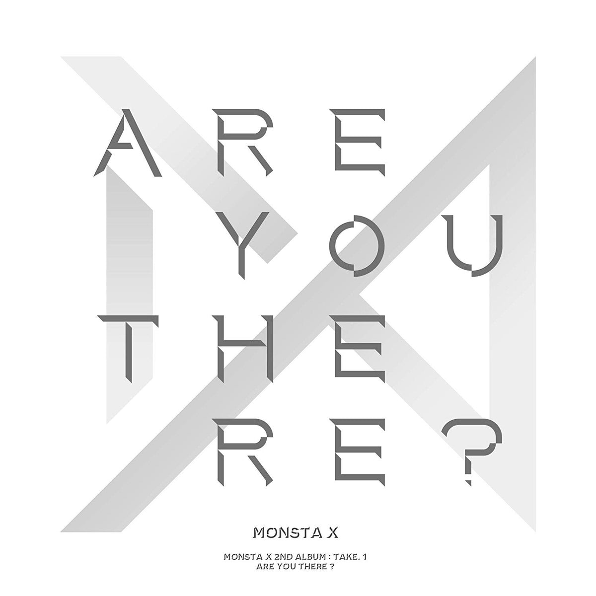 Monsta X - 2nd Album - Take.1 (Are You There?)