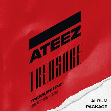 Ateez - 2nd Mini Album - Treasure Ep.2 : Zero To One