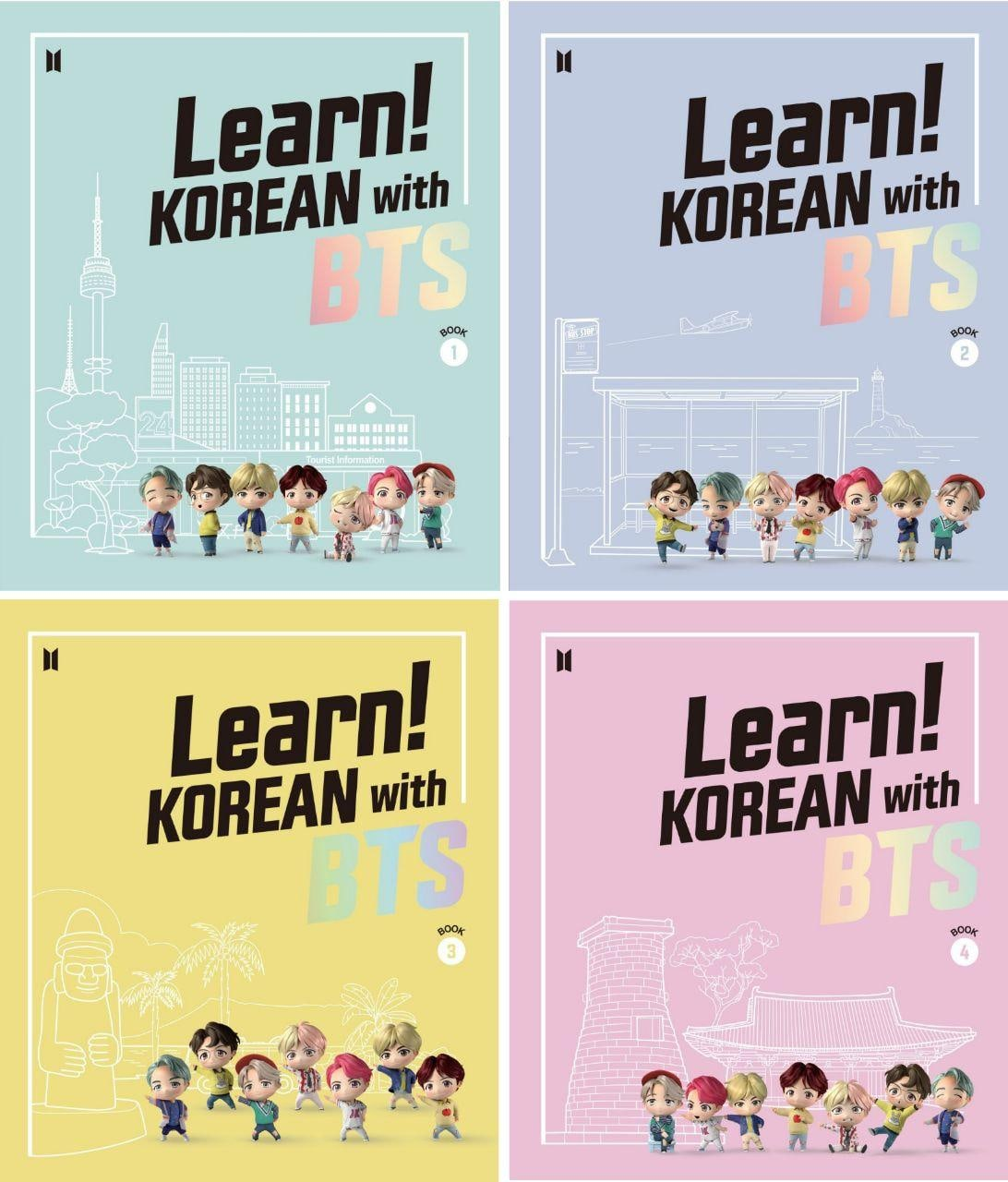 BTS - Learn Korean with BTS Package