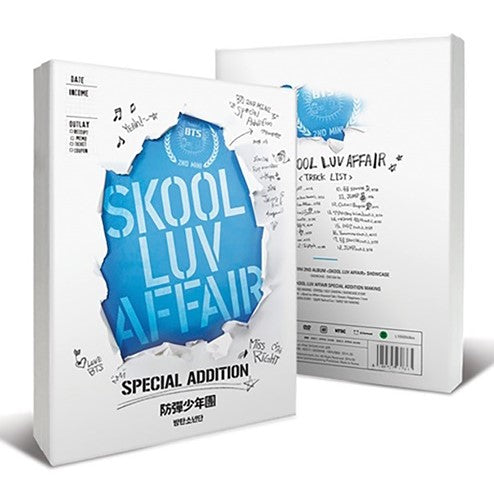 BTS - 2nd Mini Album Special Edition - Skool Luv Affair (Reissue)