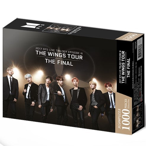 BTS - Jigsaw Puzzle - The Wings Tour