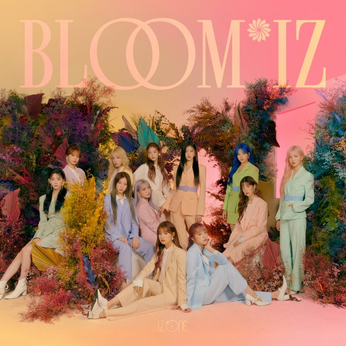 IZ*ONE - 1st Album - BLOOM*IZ