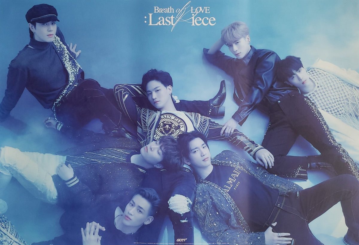 [Poster] Got7 - Breathe of Love: Last Piece - C