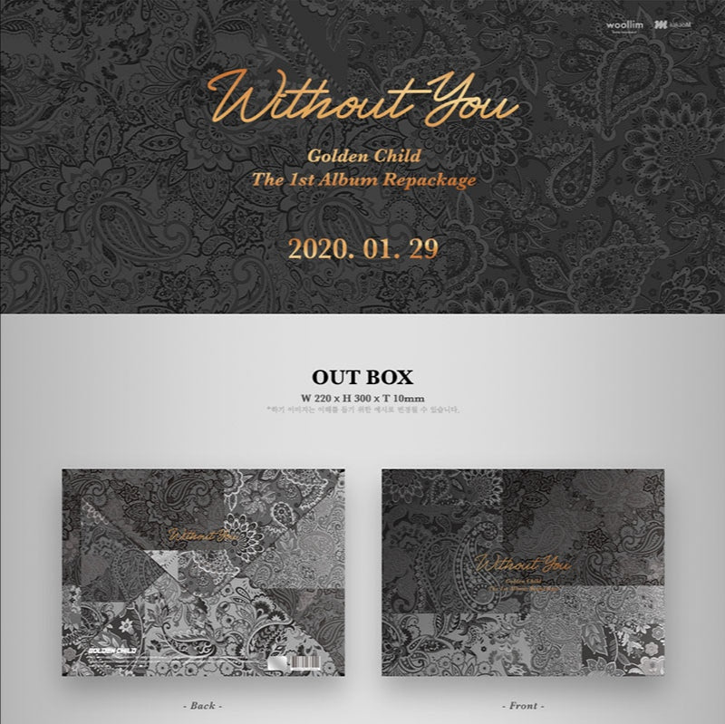 Golden Child - Without You - 1st Album Repackage