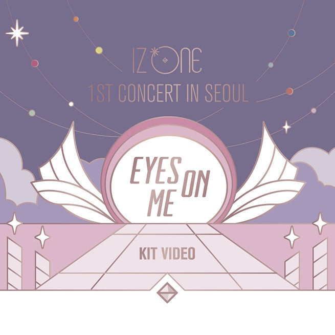 IZONE - 1st Concert in Seoul - Eyes on Me - DVD