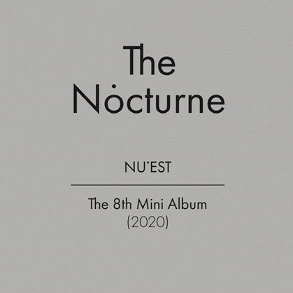 NU'EST - 8th Mini Album - Nocturne