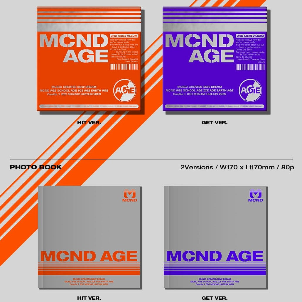 MCND -  2ND Mini Album - MCND AGE