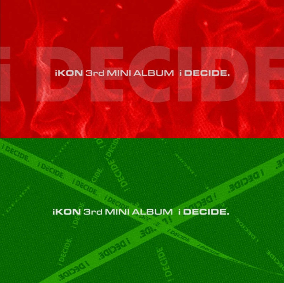 iKon - 3rd Mini album - i Decide