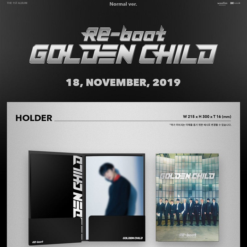 Golden Child - Vol 1. Reboot (Normal Edition)