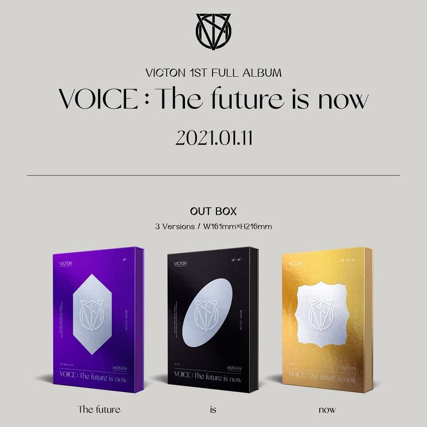 VICTON - 1st Album - VOICE : The Future Is Now